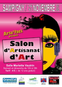Flyer salon artisanat d'art meuse